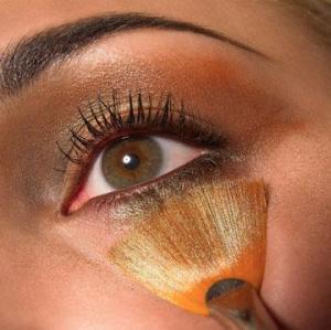 O efeito da maquiagem